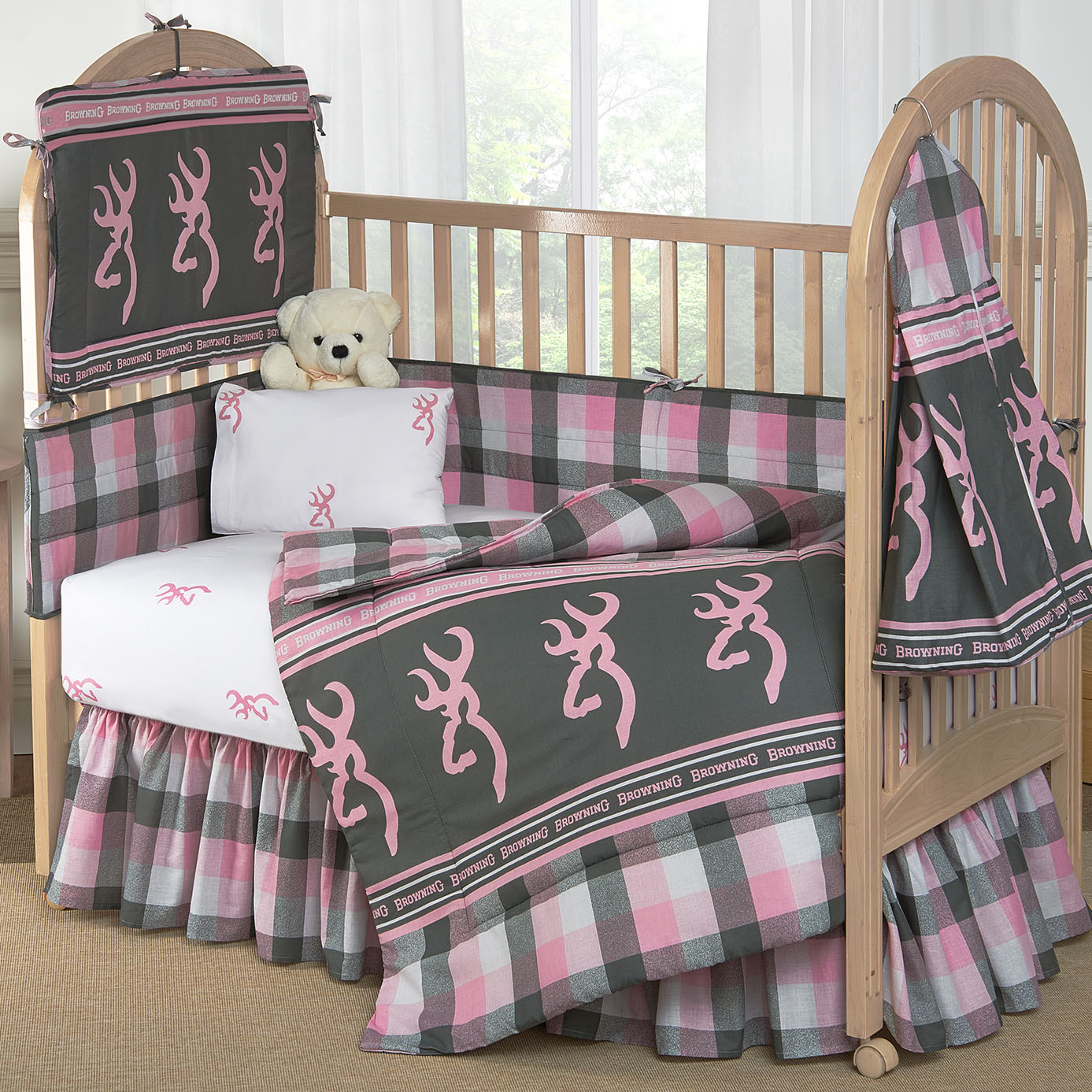 Rustic beddings new baby crib set category rustic bedding blog although people might consider rustic themed baby nurseries to be more of a boys thing our collection country baby crib bedding sets feature bedding both sciox Image collections