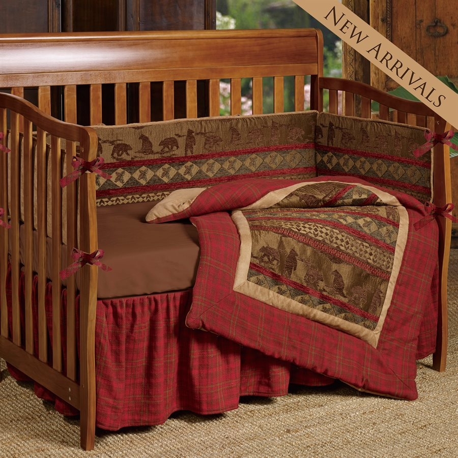 Rustic beddings new baby crib set category rustic bedding blog although people might consider rustic themed baby nurseries to be more of a boys thing our collection country baby crib bedding sets feature bedding both publicscrutiny Image collections