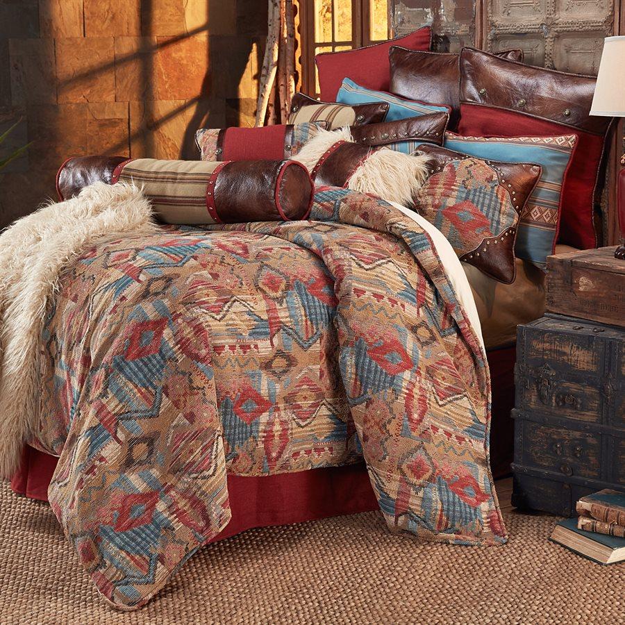 ruidoso comforter sets hiend accents – rustic-bedding | rustic